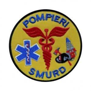 Emblema SMURD brodata