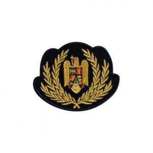 Emblema coifura ofiteri politia de frontiera