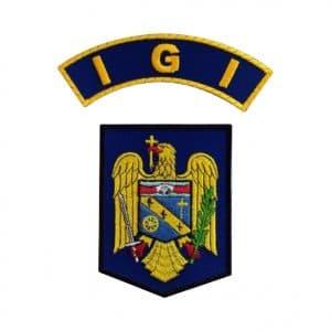 Embleme maneca Inspectoratul General pentru Imigrari IGI - Insemne oficiale/profesionale si grade pentru Politia Romana IGPR. Patria et honor! Comanda acum!