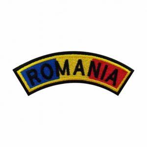 Drapel semirotund Romania