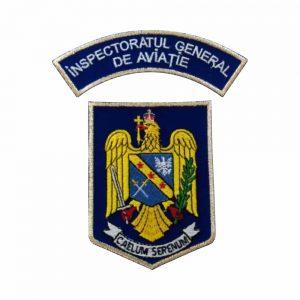 Embleme brodate IGAV Institutul General de Aviatie