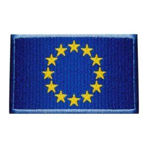 Drapel UE brodat Uniunea Europeana