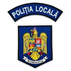 EMBLEMA POLITIA LOCALA BRODATA VARIANTA 7 1