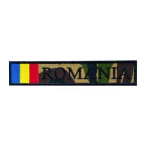 Ecuson Militar Romania Camuflaj Ripstop