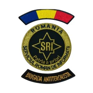 Embleme Serviciul Roman de Informatii SRI Ofiteri Brigada Antiterorista