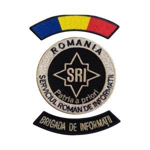 Embleme Serviciul Roman de Informatii SRI Subofiteri Brigada de Informatii