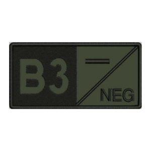 B3 NEG ECUSON GRUPA SANGUINA
