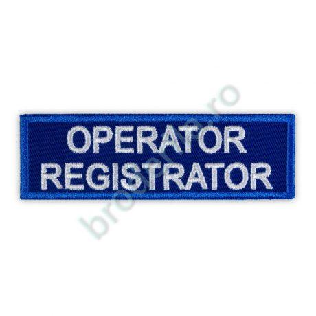 Ecuson Operator Registrator Ambulanta SAJ