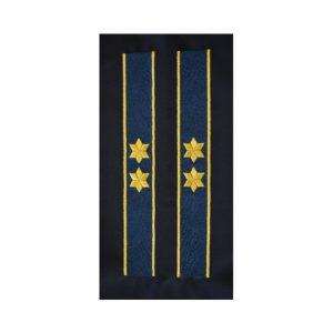 Trese Maneca Comisar ANP - Galoane Maneca ANP - Insemne oficiale/profesionale si grade pentru PolitiaPenitenciare ANP. Comanda acum!