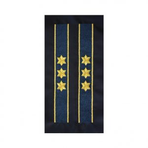 Trese Maneca Comisar Sef ANP - Galoane Maneca ANP - Insemne oficiale/profesionale si grade pentru PolitiaPenitenciare ANP. Comanda acum!