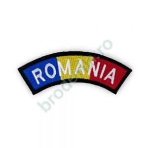Ecuson umar ROMANIA semirotund