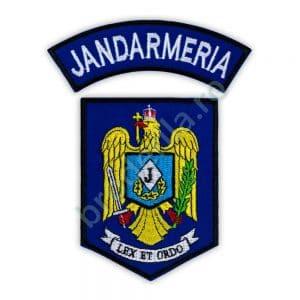 Embleme maneca Jandarmeria