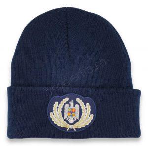 Caciula ofiter jandarmerie bleumarin
