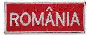 Emblema Romania piept 13x5 cm