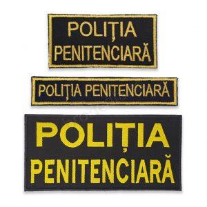 Politia penitenciara piept spate