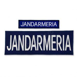 Jandarmeria piept spate