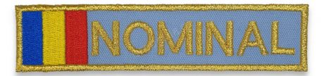 Nominal drapel albastru ANP