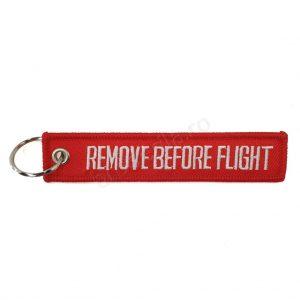 Breloc remove before flight 1