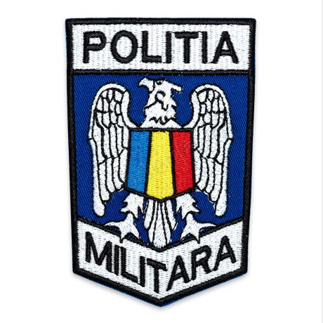 ECUSON MANECA POLITIA MILITARA 105X7CM