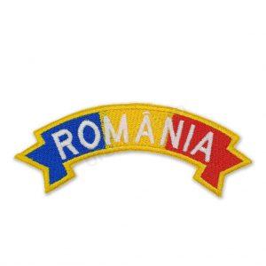 Ecuson drapel semirotund romania jandarmerie igjr