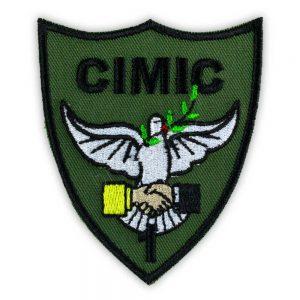 Emblema Batalion 1 CIMIC instructie
