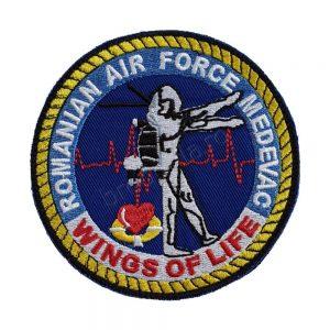 Emblema Med Evac Wings of Life
