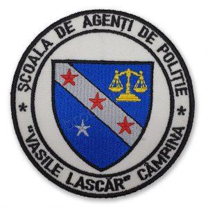 Emblema Scoala de Agenti de Politie Vasile Lascar Campina