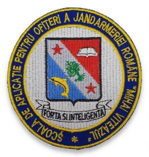 Emblema Scoala de Aplicatie pentru Ofiteri a Jandarmeriei Romane Mihai Viteazul