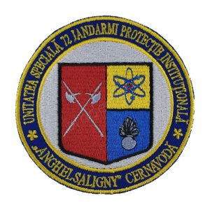 Emblema Unitatea Speciala 72 Jandarmi Protectie Institutionala Cernavoda