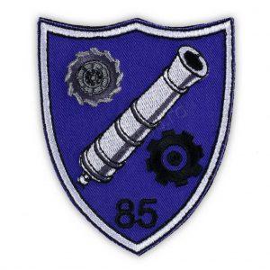 Emblema batalionul 85 logistic barlad mov