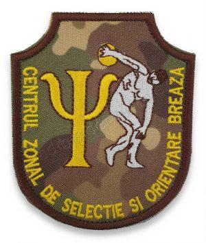 Emblema centrul zonal de selectie si orientare breaza combat terestru