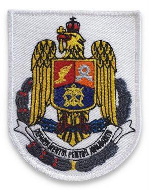 Emblema departamentul pentru armamente alb