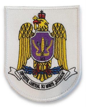 Emblema depozitul central 163 munitii alb