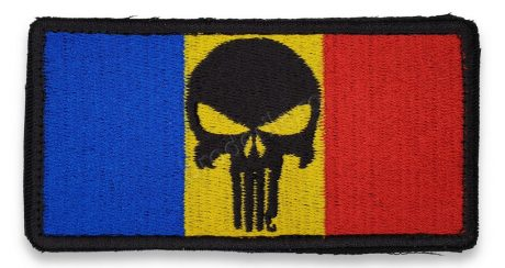 Emblema drapel Punisher RO