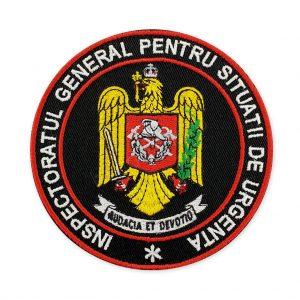 Emblema inspectoratul general pentru situatii de urgenta