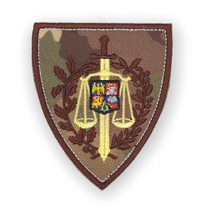 Emblema justitie militara combat terestru