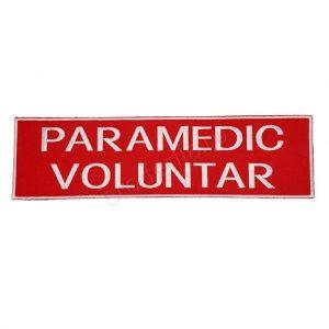 Emblema paramedic voluntar 25x7 1
