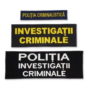 Emblema politia criminalistica