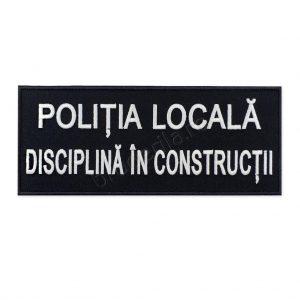 Emblema politia locala disciplina in constructii 240 100
