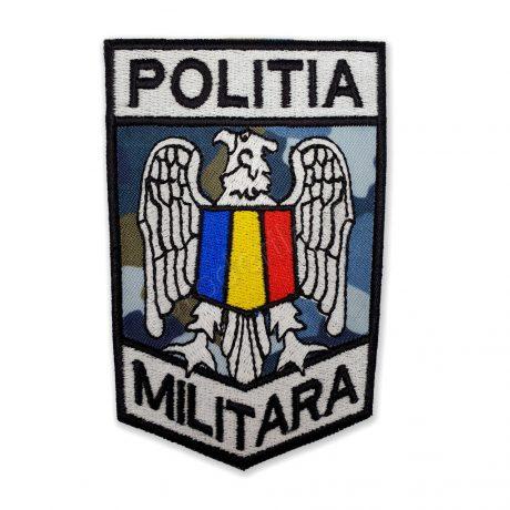 Emblema politia militara combat aerian negru