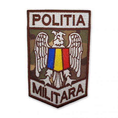Emblema politia militara combat terestru maro