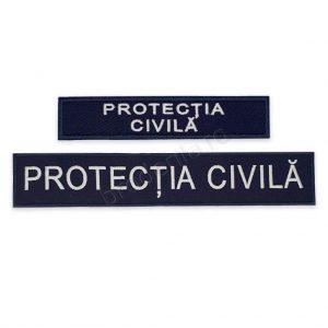 Emblema protectia civila coperta