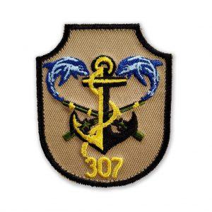 Emblema regimentul 307 nfanterie marina bej