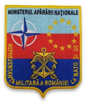 Emblema reprezentatei militare a romaniei la nato si ue