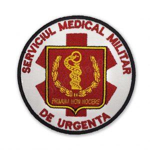 Emblema serviciul medical militar de urgenta 1