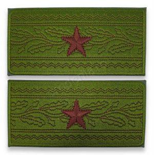 Grade general de brigada combat forte terestre MAPN