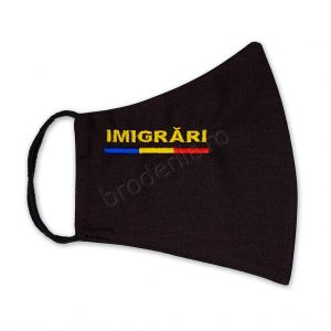 Masca brodata imigrari side