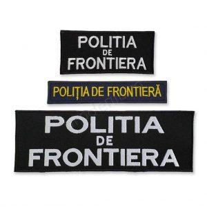 politia de frontiera piept spate