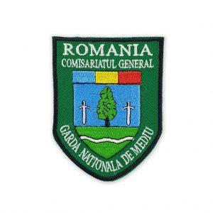 Emblema comisariatul general garda nationala de mediu